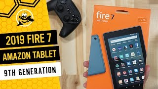 2019 Fire 7 Amazon Tablet 9th Generation: Unboxing and First Impressions