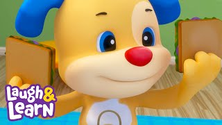Picnic in the Living Room | Laugh & Learn™ | Cartoons and Kids Songs | Learn ABCs + 123s | Rhymes