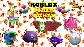 Roblox Event - Pizza Party (All Prizes)