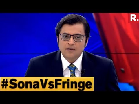 Sona Mohapatra Vs Sufi Group - Ultimate Faceoff On The Debate With Arnab Goswami