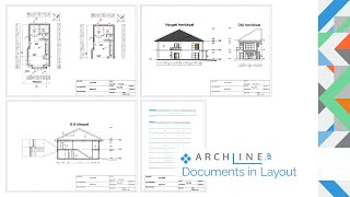 ARCHLine.XP Architectural Webinar Part 6: Documents in Layout