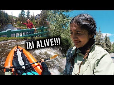 ALMOST DIED IN ICE COLD WATER IN COLORADO