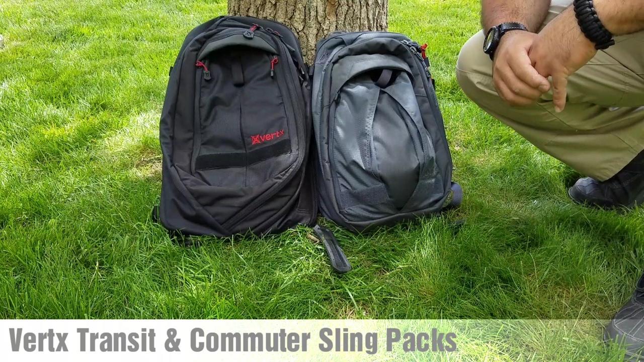 18901c2eb254 Vertx Transit & Commuter Sling Pack Review