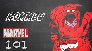 Rommbu – Marvel 101 – Monsters Unleashed