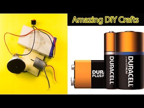 Awesome DC Motor Life Hacks | Waste Material DIY ideas With DC Motor | NK Crafts
