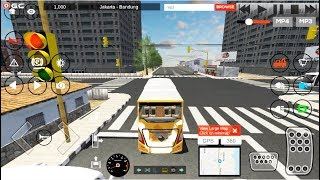 IDBS Bus Simulator - Jakarfta Bandung - Simulator Bus 3d Indonesia - Android gameplay
