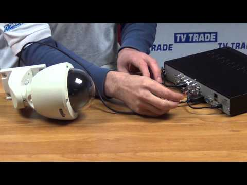 How to Connect a PTZ Camera to 960H DVR