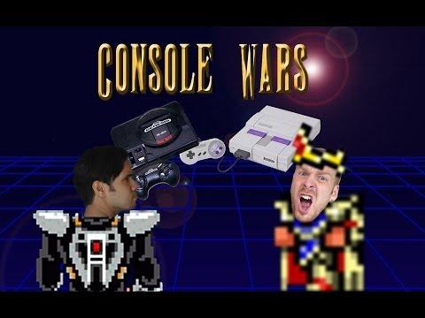 Console Wars - Final Fantasy 2 vs Phantasy Star 2 - Super Nintendo vs Sega Genesis