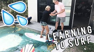Video LEARNING TO SURF WITH TEAM 10 download MP3, 3GP, MP4, WEBM, AVI, FLV November 2017