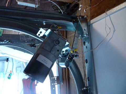 low clearance garage doorzero clearance garage door opener  YouTube