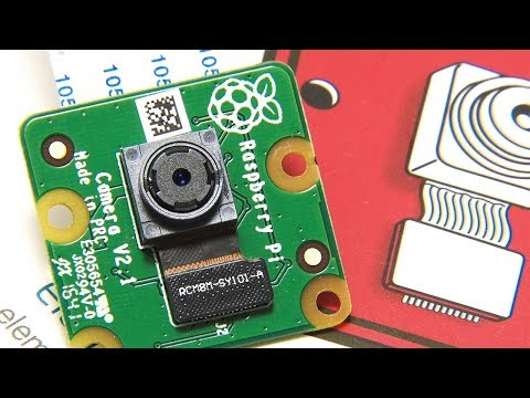 Raspberry Pi MotionEyeOS Network Camera - YouTube