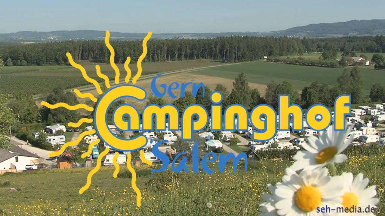 Camping am Bodensee - Campinghof Gern - Salem - YouTube