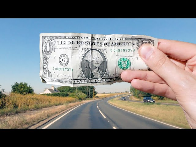 A Million Dollars vs A Billion Dollars, Visualized: A Road Trip - Tom Scott
