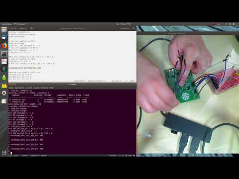 OpenOCD boundary scan on STM32 - YouTube