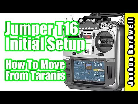 Jumper T16 Setup and Transfer Models From FrSky Taranis X9D