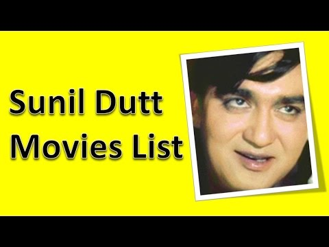 Sunil Dutt Movies List