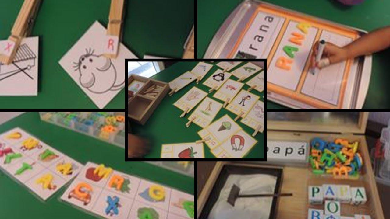 Actividades de aprendizaje en el área de lenguaje