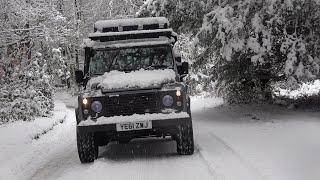 Snow Covered Landy