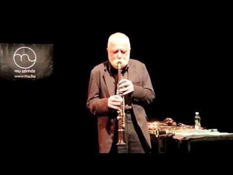 Peter Brötzmann solo - MU Színház, Budapest, 2016. szept. 2.