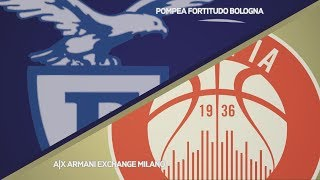HIGHLIGHTS/ Pompea Fortitudo Bologna - AX Armani Exchange Milano 85-80