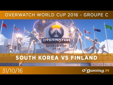 South Korea vs Finland - Overwatch World Cup 2016 @Blizzcon - Groupe C - Overwatch