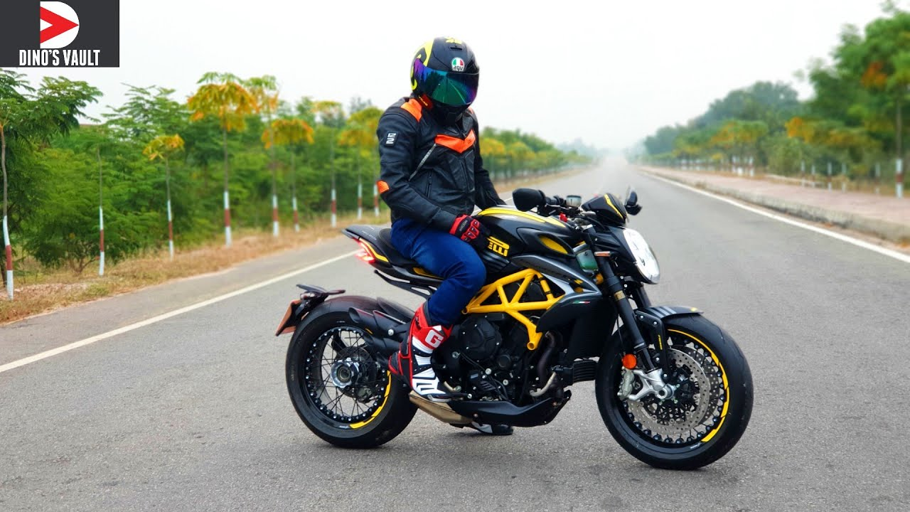 Mv Agusta Dragster Rr 800 Pirelli Edition First Ride Review Youtube