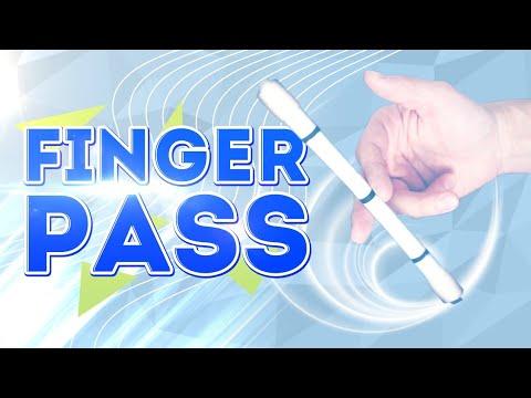FingerPass - How To Do Pen Trick. Tutorial Pen Spinning.