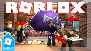 [PIZZA PARTY EVENT 2019 ENDED!] HOW TO GET PURPLE PARTY FRO! | Roblox