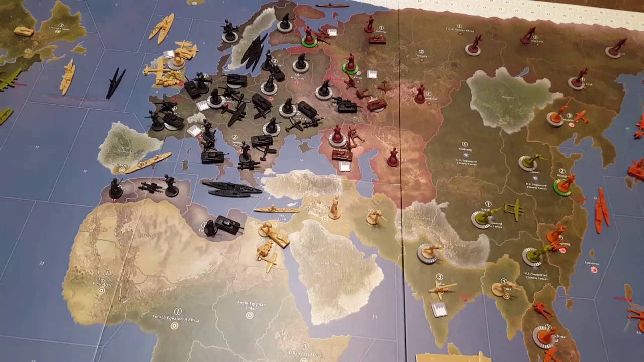 Axis and Allies 1942 Second Edition Allies Strategy