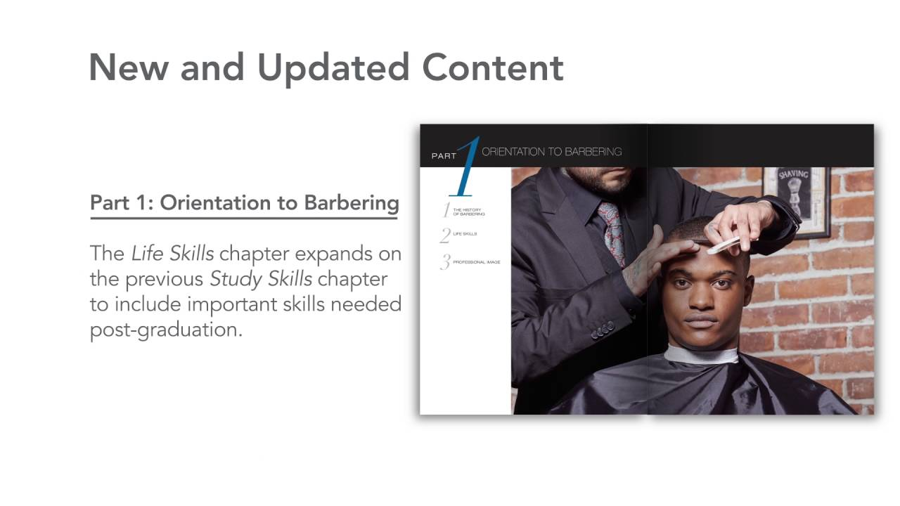 milady standard barbering 6th edition youtube rh youtube com Milady Barber Textbook Milady Barber Elements