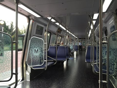Washington Metrorail HD EXCLUSIVE 60 FPS: Riding 7000 Series On Red Line to Glenmont (Full Line)