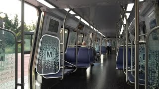 Washington Metrorail HD EXCLUSIVE 60fps: Riding 7000 Series On Red Line to Glenmont (Full Line)