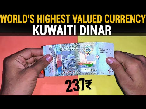 Why kuwaiti dinar is the highest value currency?