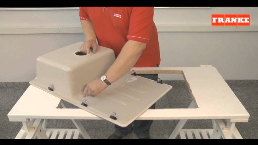 Installation Of Granite Sink With Faucet Youtube