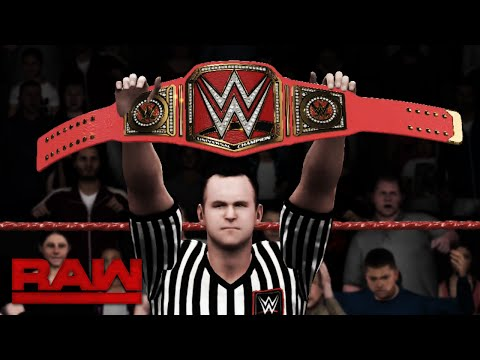 WWE UNIVERSAL CHAMPIONSHIP FATAL 4 WAY!! (WWE 2K16 Exhibition)