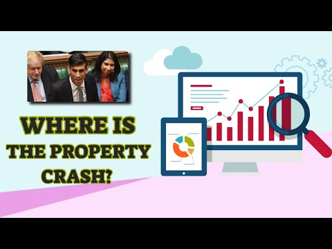 Where Is The Property Crash? When Will The Housing Market Crash 2020/2021
