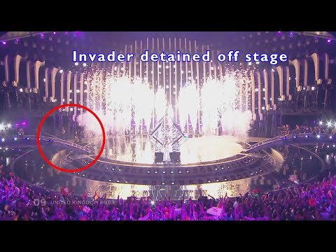 Eurovision 2018 Stage Invader Analysis with alternate angles