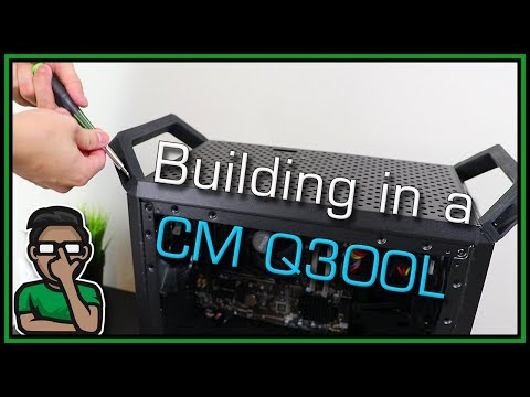 MasterBox Q300L PC Build Sequence (with HANDLES) - Assembly Ambiance - PCMR ASMR
