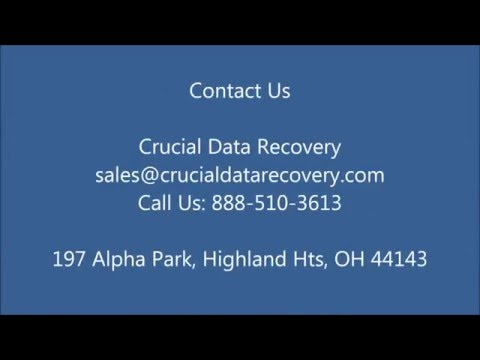 Intro - Crucial Data Recovery - Cleveland, Los Angeles, San Jose Miami, Hollywood, Dallas