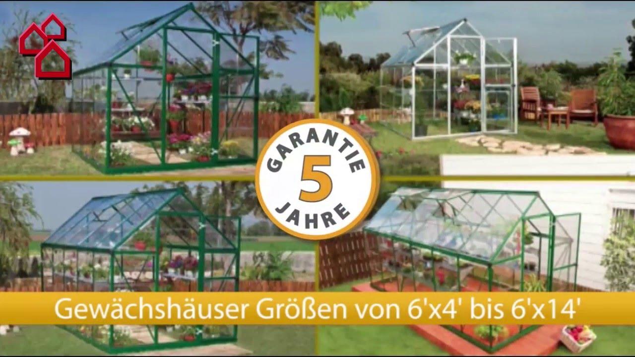 Gewachshaus Harmony Von Palram Bauhaus Youtube