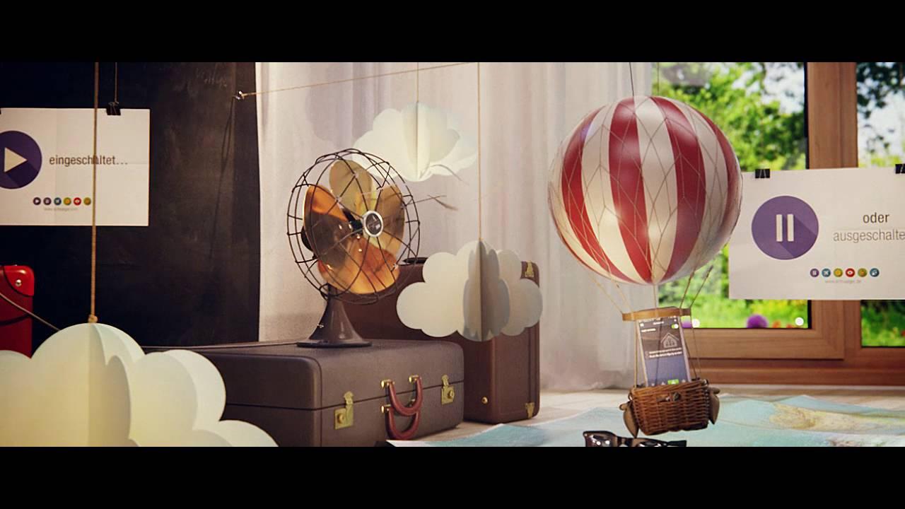 schwaiger home automation home4you smart home youtube. Black Bedroom Furniture Sets. Home Design Ideas