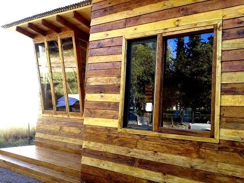 Casas de madera caba as de madera y tronco bahia blanca y - Como hacer una cabana de madera ...