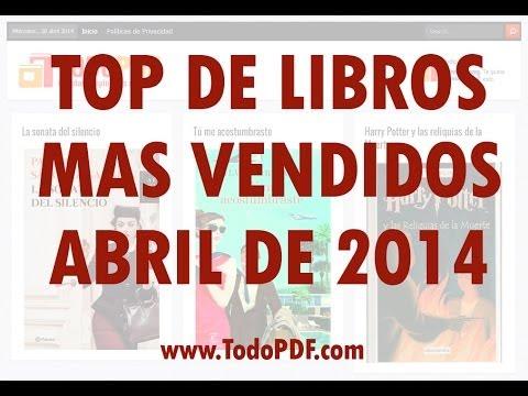 10 libros mas vendidos en espana: