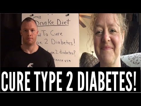 HOW TO CURE TYPE 2 DIABETES!