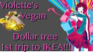 Ep:796 Violette's Vegan | Dollar Tree | 1st trip to IKEA!(The facts on animal agriculture: http://www.cowspiracy.com/facts Contact me : Jenny Quiroz C/O Leilani Tuala P.o. Box 61551 Boulder City, NV, 89006 My hand ..., 2016-05-24T14:12:54.000Z)