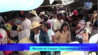 Mercado del trueque en Coscomatepec