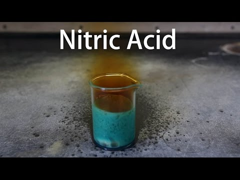 Making Fuming Nitric Acid