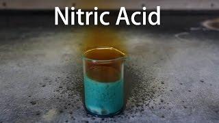 Making Fuming Nitric Acid