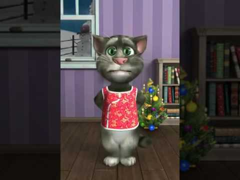 Mi talki Tom navidad parodia
