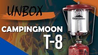 [Unbox] Đèn Gas Dã Ngoại Campingmoon T-8 Ánh Sáng Siêu Đẹp - Chuyentactical.com